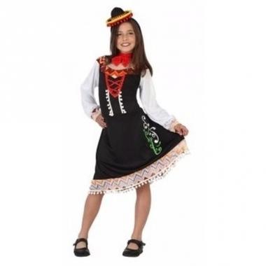 Mexicaans verkleedjurkje mariachi meisje