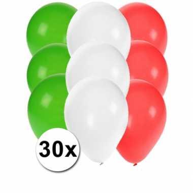 Mexicaanse feest ballonnen 30 st