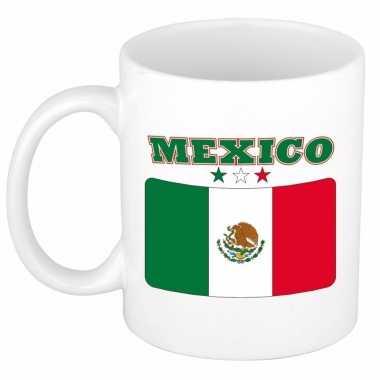 Mexicaanse vlag theebeker 300 ml