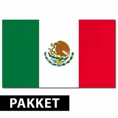 Mexico thema artikelen pakket