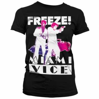 Miami vice freeze t-shirt dames