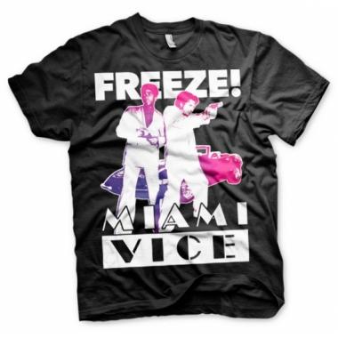 Miami vice freeze t-shirt heren