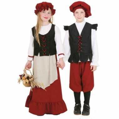 Middeleeuws kostuum voor jongens