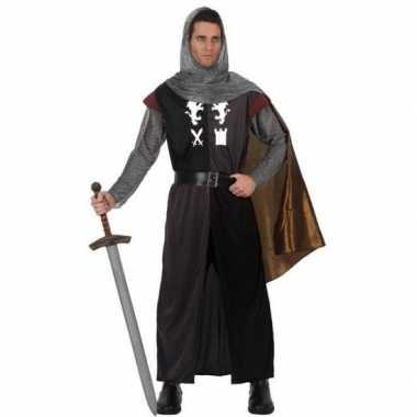 Middeleeuws ridder verkleed kostuum voor heren
