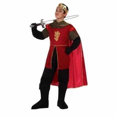 Middeleeuwse koning/ridder henry verkleedset voor jongens