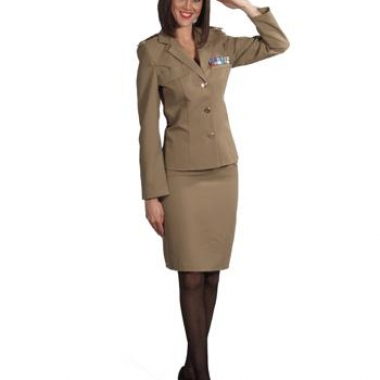 Militair pakje voor dames