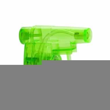 Mini groen waterpistool 5 cm