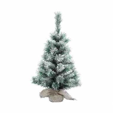 Mini kerstboom besneeuwd 60 cm