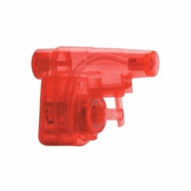 Mini rood waterpistool 5 cm trend