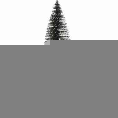 Miniatuur kerstboompje groen 35 cm