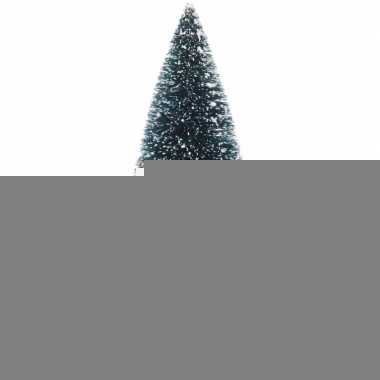 Miniatuur kerstboompjes groen 2 stuks