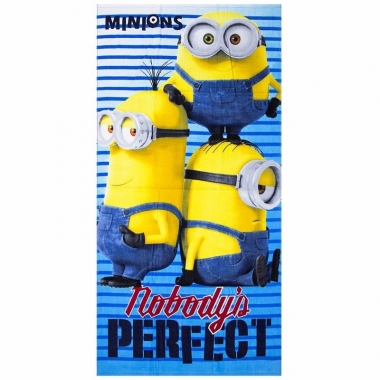 Minions nobody is perfect badlaken 70 x 140 cm