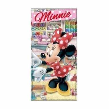 Minnie mouse atelier badlaken/strandlaken atelier 70 x 140 cm