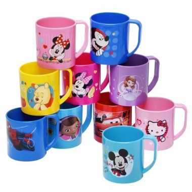 Minnie mouse drinkbeker lichtroze