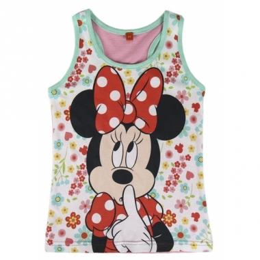 Minnie mouse singlet voor meisjes