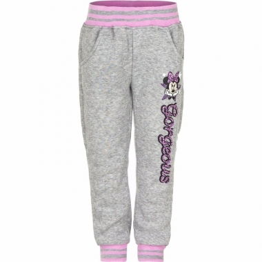 Minnie mouse sportbroek grijs