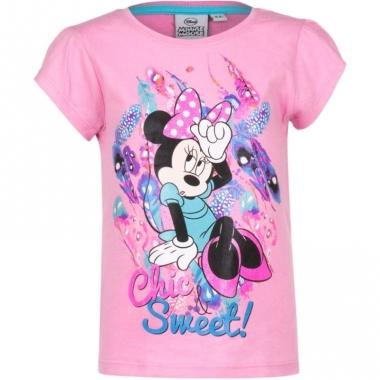 Minnie mouse t-shirt roze voor meisjes