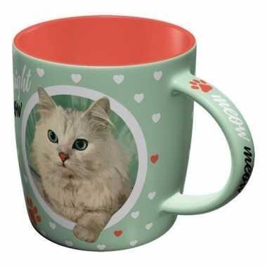 Moederdag kado voor een katten liefhebber mok