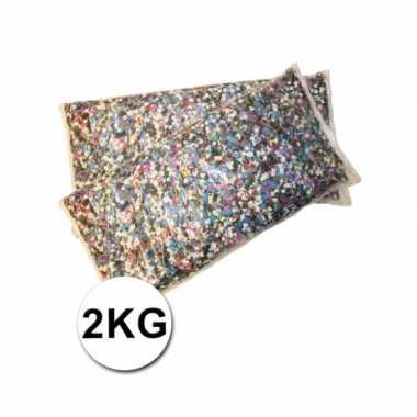 Multicolor confetti 2 kilo