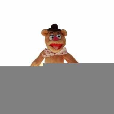 Muppet knuffels fozzie de beer 20 cm