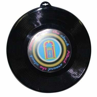 Muziek decoratie thema platen