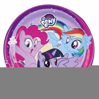 My little pony bordjes 8 stuks
