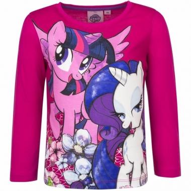 My little pony shirt roze lange mouwen