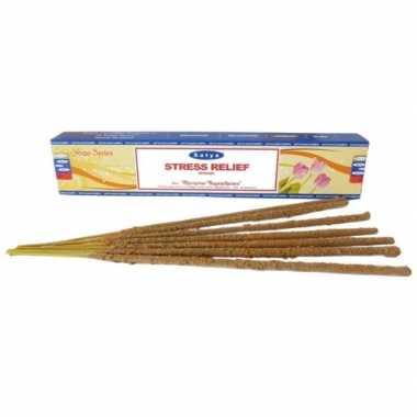 Nag champa wierook anti stress 15 gram