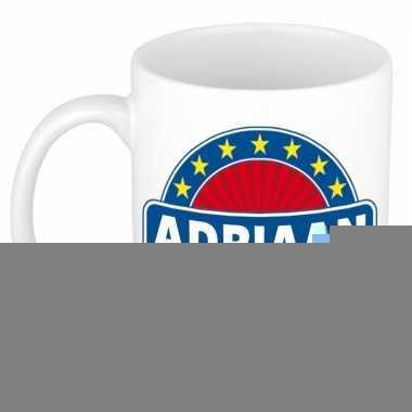 Namen koffiemok / theebeker adriaan 300 ml