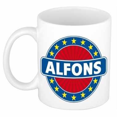 Namen koffiemok / theebeker alfons 300 ml