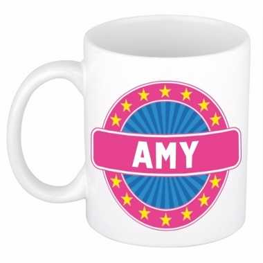Namen koffiemok / theebeker amy 300 ml