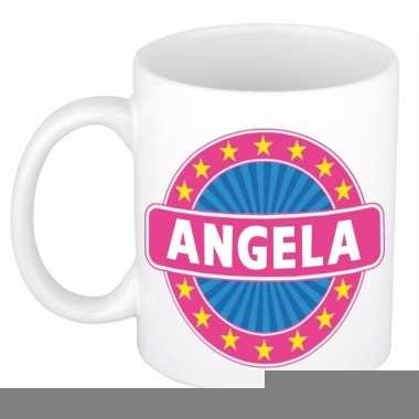 Namen koffiemok / theebeker angela 300 ml