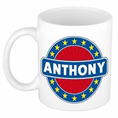 Namen koffiemok / theebeker anthony 300 ml