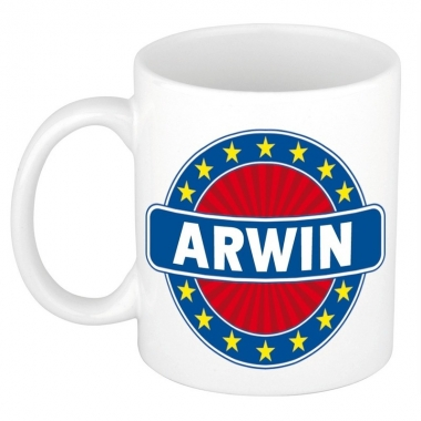 Namen koffiemok / theebeker arwin 300 ml