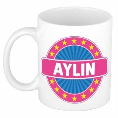 Namen koffiemok / theebeker aylin 300 ml