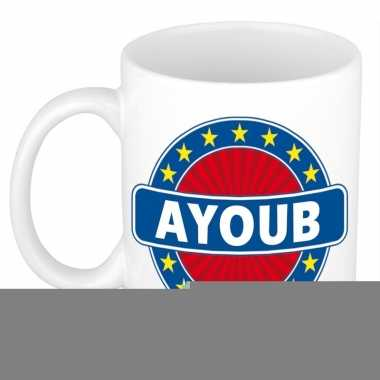 Namen koffiemok / theebeker ayoub 300 ml
