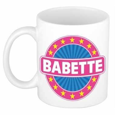 Namen koffiemok / theebeker babette 300 ml