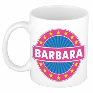 Namen koffiemok / theebeker barbara 300 ml
