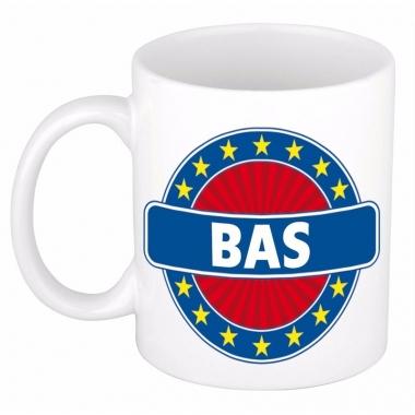 Namen koffiemok / theebeker bas 300 ml