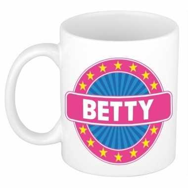 Namen koffiemok / theebeker betty 300 ml