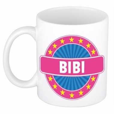 Namen koffiemok / theebeker bibi 300 ml