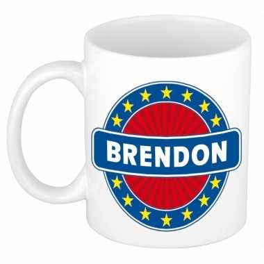 Namen koffiemok / theebeker brendon 300 ml