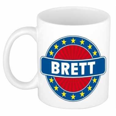 Namen koffiemok / theebeker brett 300 ml