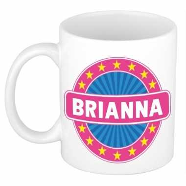 Namen koffiemok / theebeker brianna 300 ml