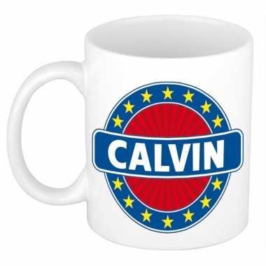 Namen koffiemok / theebeker calvin 300 ml