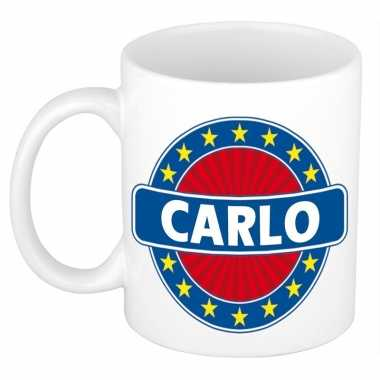 Namen koffiemok / theebeker carlo 300 ml