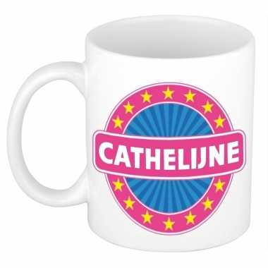 Namen koffiemok / theebeker cathelijne 300 ml