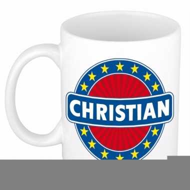 Namen koffiemok / theebeker christian 300 ml