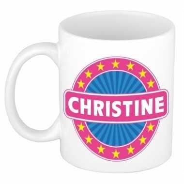 Namen koffiemok / theebeker christine 300 ml