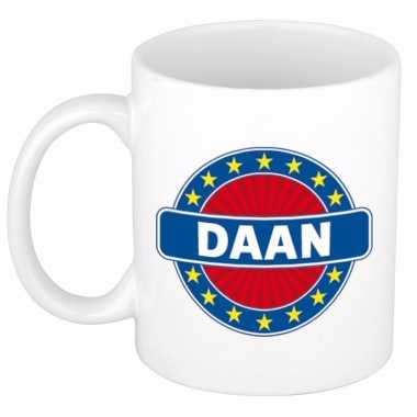 Namen koffiemok / theebeker daan 300 ml